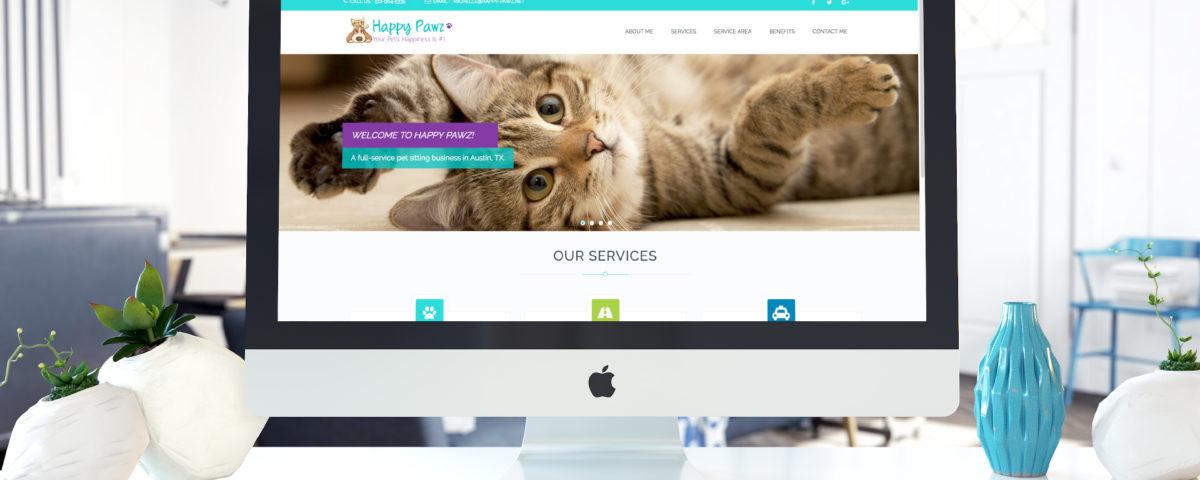 Happy Pawz Website