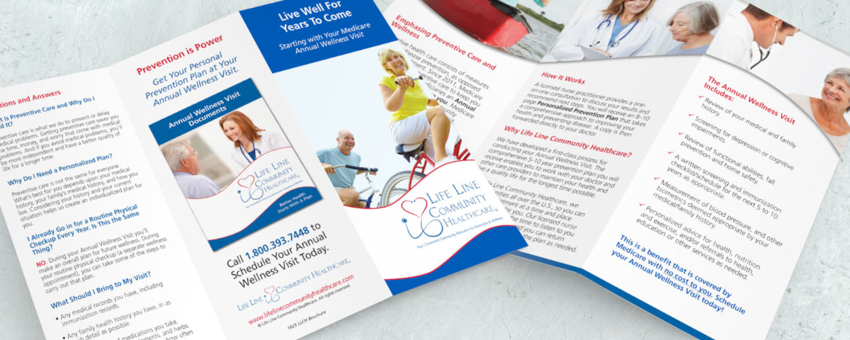 Life Line Community Healthcare Brochure
